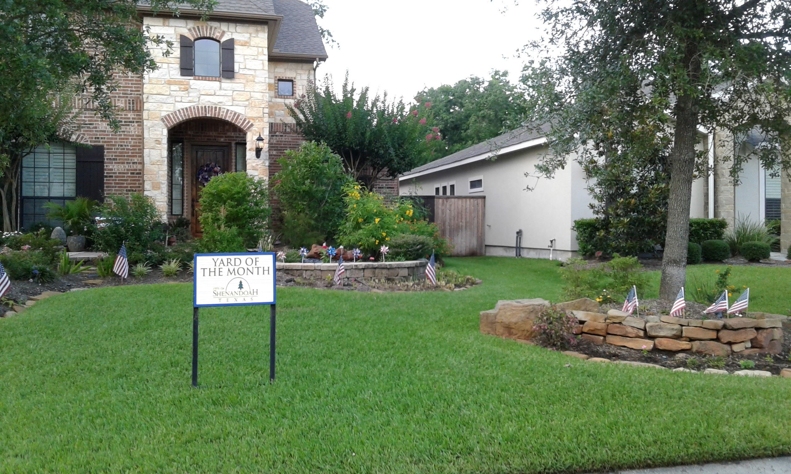 Yard of the Month for July 2019 Hudson_164 Silverwood Ranch Drive.
