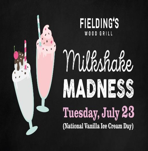 milkshake madness fieldings
