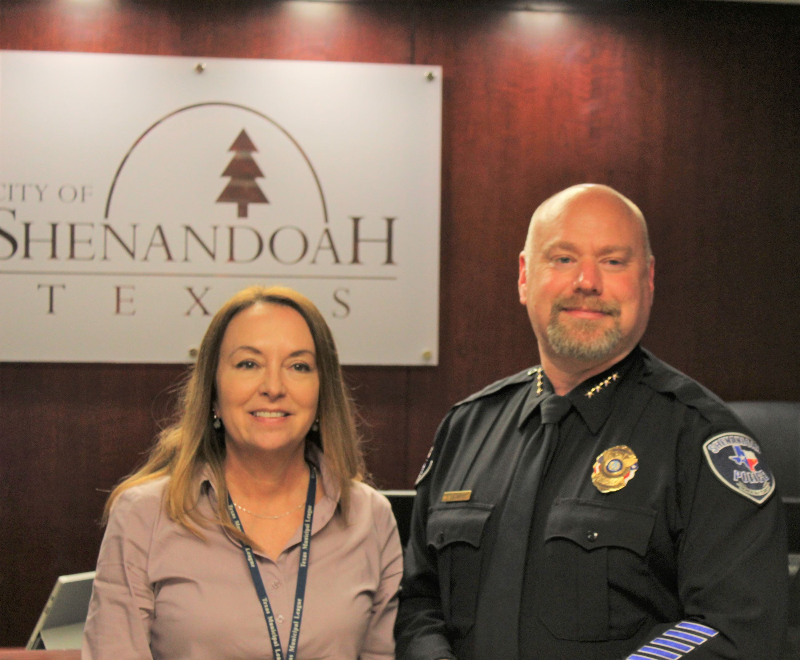 City Administrator and Police Chief